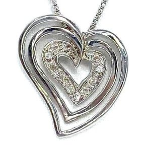 Sterling Silver 925 Pendant & Chain
